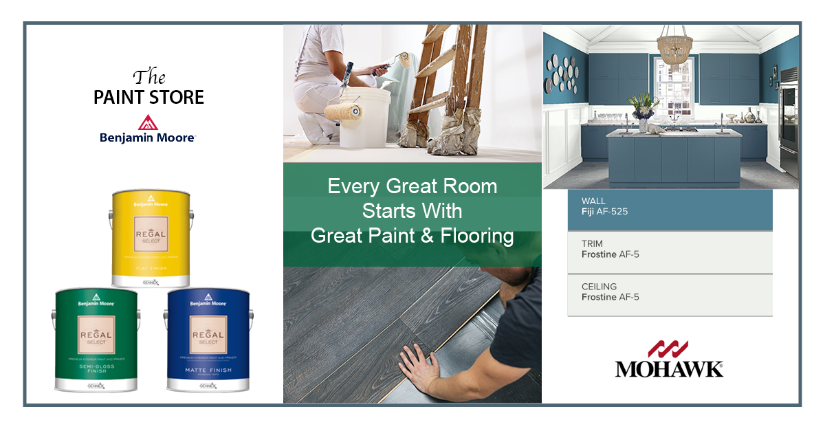 Every Great Room Starts With a Great Paint